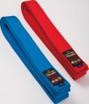 "TOKAIDO Belt: Red-Blue-Brown '""WKF Approved"" Rp. 240.000"
